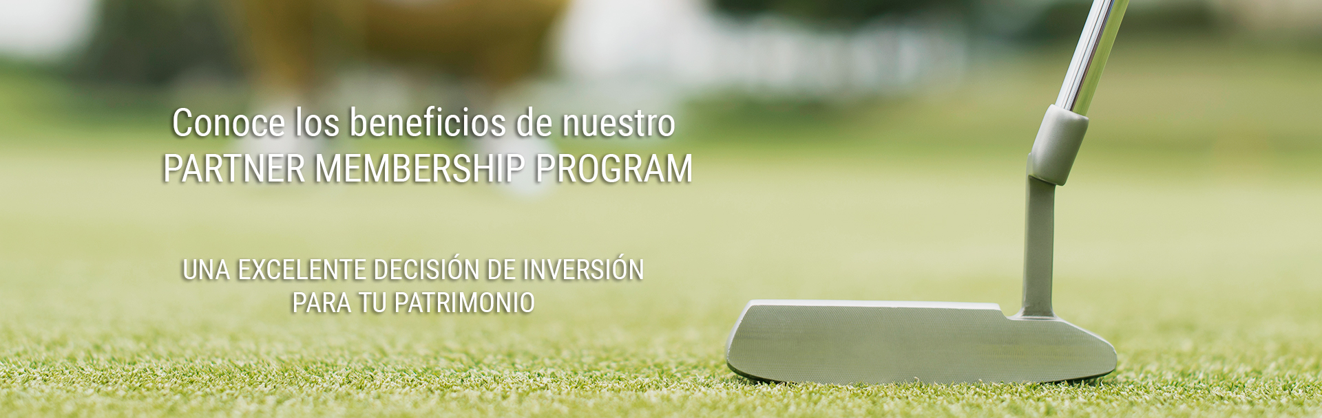 Programa exclusivo de membresías para socios de La Vista Country Club